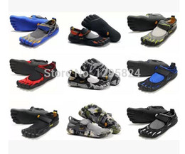 Wholesale Outdoor sports shoes for men and women sports five toes LS komodo sports fitness shoes free finger barefoot shoes