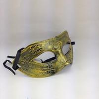 ancient roman festivals - Halloween Festival Ancient Greek Roman warriors masquerade mask venetian mask halloween party mask silver golden
