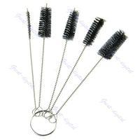 beginner airbrush - set Tattoo Cleaning Brush Kit Tip For Tube Machine Grip Airbrush Spray Gun