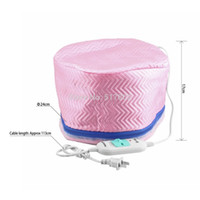 Wholesale Beauty Steamer Electric Hair Thermal Treatment SPA Nourishing Hair Care Cap DropShipping
