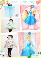 hair cutting cape - pc Professional Kid Hairdressing Cape Hair Cutting Cape Beauty Salon Kids Barber Cloth Nylon Gown for Children Styles