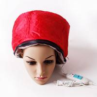 Wholesale Red V Hair Thermal Treatment Beauty Steamer SPA Cap Professional Hair Care Nourishing Cap V0011 MF0061