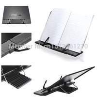 adjustable desk frame - Adjustable Portable Music Cook Steel Book Document Frame Reading Desk Stand Holder Bookrest Bookstand