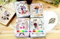 Al por mayor-Nuevo caso la memoria cosecha amor secreto caja de la lata / caja de regalo / multiusos / al por mayor
