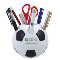 advertising purpose - Multi purpose advertising gift football pen holders