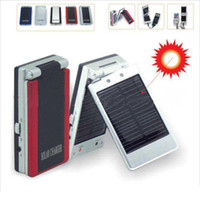Wholesale MAH Solar Charger Mobile Phone MP3 MP4 Radio Digital Camera Ipod Charger