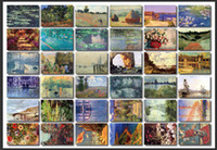 Cheap Wholesale-Free shipping koudai-koudai vintage claude monet boxed postcards 36pcs set Birthday Card Greeting Card Gift Card Fashion Gift