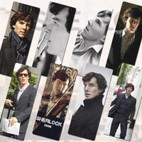 benedict cumberbatch - BBC sherlock Holmes Dr Watson PVC bookmark x piece set size x4cm Benedict Cumberbatch Martin Freeman