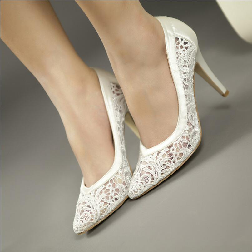 Wholesale 2 3 Inch Womens Bridal Pumps Purple Black Ivory White ...