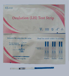 Wholesale 10mIU ml Ovulation LH Test Strip Pregnancy HCG Test Strip One Step Test CE