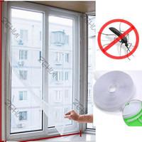 Fly mayor-Libre Dropshipping error de insectos cortina mosquitera Cortinas ventana de la puerta del acoplamiento neto del vendedor