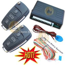 Wholesale top keyless entry system is with flip key alarm remotes remote lock or unlock car door auto window closer trunk open