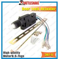 actuating motor - Top quality car door lock actuator CF307 Wires Heavy power motor with nails Metal wheels kg Actuating force