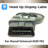 Wholesale Car Data Line Head Up Display Cable Connector For HUD Head Up Display To OBD2 Pin Interface Adapter