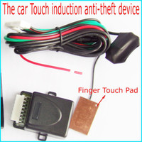car alarm system - The Car Touch induction anti theft device for car alarm system Finger Touch Tablet for start car engine