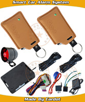 alarm promotional - Promotional smart car alarm system RFID auto lock or unlock trunk open keyless entry function window rolling up output CE PASS