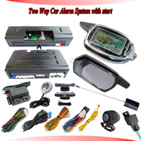 auto page car alarm system - two way car alarm system keyles entry by remote pager remote start timer start auto start de remote paging sensor call or unlock