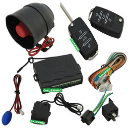 Wholesale Automatic Car central door lock car alarm system with direction light flash Warning for arming with CE