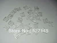 Wholesale sets Clear Plastic Bikini Bra Clip Swimwear Clickers mm