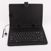 Wholesale keyboard leather case for inch flytouch tablet pc leptop epad x220 zt sample