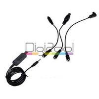 Wholesale Flight Simulator USB FMS Cable For RC Helicopter Controller m Black New Hot