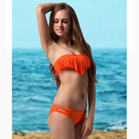 Wholesale Fashion Sexy Women Bikini Swimwear Tassels Summer