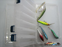 Wholesale mumujiuri V big Fishing Plastic Box Fishing Tackle Box Fishing Product fly fishing box