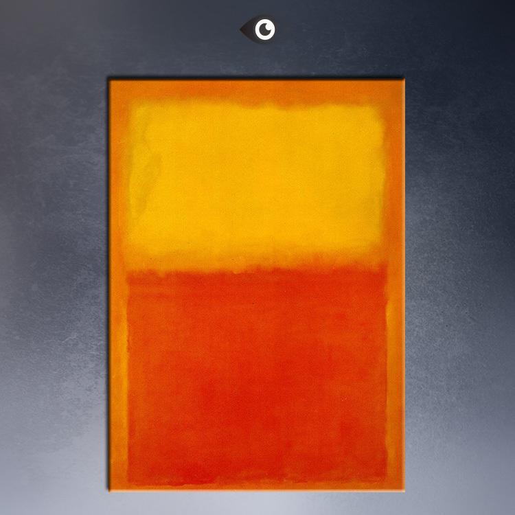 rothko orange and yellow abstract art print original huge poster for wall decor print on canvas online with 2699piece on freeau0027s