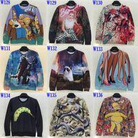 big cats lion - Fashion Newest Men Women d sweatshirt Novety print Gun fox big cat banana snake lion King dollar cartoon hoodies women