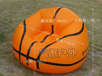 Wholesale Inflatable Basketball Sofa Inflatable Bag Chair