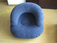 Wholesale Blue Inflatable Sofa Inflatable Bag Chair