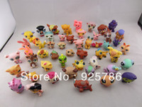 Wholesale Children Littlest Pet Shop LPS Animals Mini DIY Cartoon Toy Model Loose action Figures Collection toys