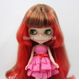 Muñecas del bjd en Línea-Al por mayor-Trébol normal de la piel desnuda Blythe Doll Apto para bricolaje Cambio BJD juguete para niñas