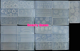 15 Pcs Lot Different Design 3D Acrylic Silicon Nail Art Mold DIY Decoration Tool NEW * FREE SHIP *