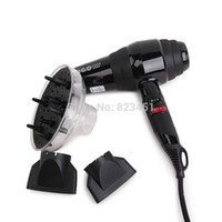 Wholesale Professional Hairdryer W Hair Dryer V V Blow Dry Salon Dryer Nozzles Diffuser Power Motor