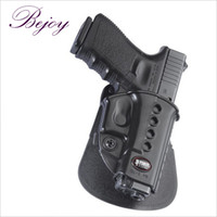 Cheap Wholesale-Evolution Roto Paddle Holster Right Hand Glock 17, 19, 22, 23, 26, 27, 33, 34, 35 Polymer Black GL-2 bejoy glock holder keeper