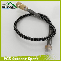air pump hand - Paintball Airsoft Air Gun Air Rifle High Pressure Hose Mpa PSI W mm Quick Connector for PCP Automobile Auto hand Pump