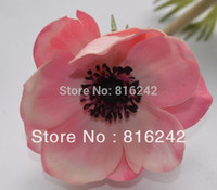 anemone flowers - COLORS REAL TOUCH FLOWERS WHITE amp PINK ANEMONES FLOWERS WITH STEMS MORE HIGHER QUALITY THAN SILK ANEMONE