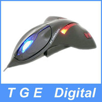 Wholesale Airplane shaped Fighter plane D Optical USB Mouse Mice for PC Laptop Black White