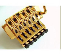 Wholesale Gold Floyd Rose double locking bridge YF GD