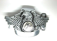 Wholesale Eagle with Famous Star Spinner Lighter Belt Buckle