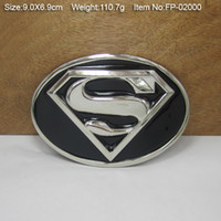 Wholesale Superman CowgirlsMetal Belt Buckle Texas Fashion Mens Western Turbo Nos Tunning