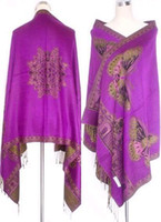 Wholesale Double Side Fancy Cashere Women s Pashmina Shawl Scarf a04