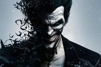 al por mayor joker de arkham-Venta al por mayor-Batman Arkham Ciudad Silk Wall Posters Video Juego Cartel Fotos Boy Dormitorio Sala Decoración Batman Joker 12x18 20x30 24x36 45