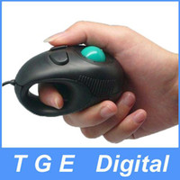 Wholesale Portable Finger Handheld D USB Mini Trackball Mouse Mice for laptop Notebook PC
