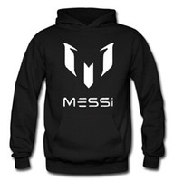 barcelona soccer messi - Barcelona Barcelona Messi MESSI LOGO hooded sweater jacket for men and women soccer