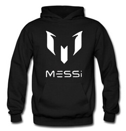 Wholesale Barcelona Barcelona Messi MESSI LOGO hooded sweater jacket for men and women soccer