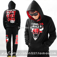 chicago bull - West men s hoodies bull clothing hiphop skateboard hoody sweatshirt hip hop sweatshirt bulls chicago