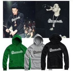 Wholesale Big Size New Fashion J COLE Same Sytle Hoodies Hip Hop Singer Jermaine Cole Sweatshirts Dreamville Pullover Thick Outerwear