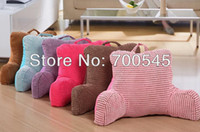 Wholesale Bedrest Pillow to watch TV and read in bed cotton Seat Back Cushion Middle Niblet Design for pregnant woman